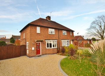 Thumbnail 2 bedroom semi-detached house for sale in Davids Lane, Gunthorpe