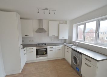 Thumbnail 2 bed flat to rent in Rathbone Crescent, Peterborough