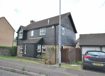Thumbnail 4 bedroom detached house for sale in Bentley Close, Northampton