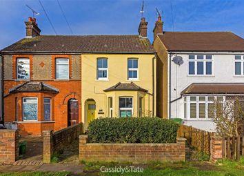 Thumbnail 3 bed semi-detached house for sale in Sandridge Road, St Albans, Hertfordshire