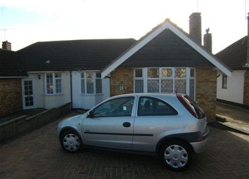 Thumbnail 3 bed bungalow to rent in Dorkins Way, Cranham, Upminster