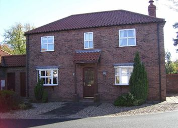 Thumbnail 4 bed detached house to rent in Beck Farm Mews, Barnoldby-Le-Beck, Grimsby