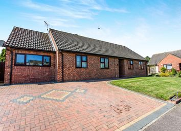 Thumbnail 4 bedroom detached bungalow for sale in Heathlands Drive, Croxton, Thetford