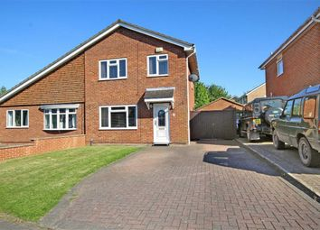 Thumbnail 3 bed semi-detached house for sale in Wynndale Close, Swindon, Wiltshire