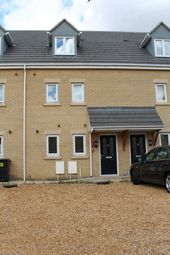Thumbnail 4 bedroom terraced house to rent in Bradfield Way, Peterborough