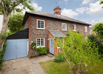 Thumbnail 4 bed semi-detached house for sale in The Street, Sturmer, Haverhill