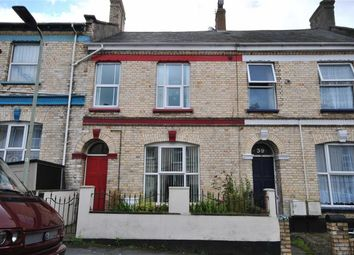 Thumbnail 4 bed terraced house for sale in Fort Street, Barnstaple