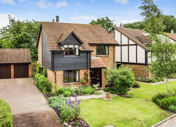 Thumbnail 4 bed detached house for sale in The Fieldings, Horley, Surrey