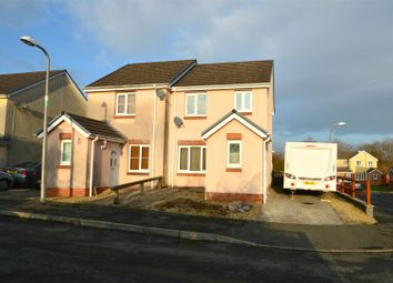 Thumbnail 3 bedroom semi-detached house for sale in Parc Gwernen, Tycroes, Ammanford