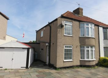 Thumbnail 3 bed semi-detached house for sale in Exeter Road, Welling, Kent