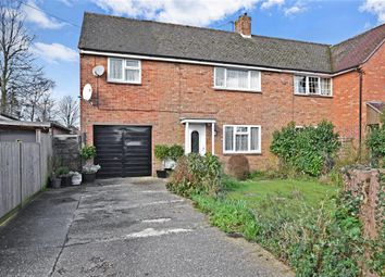 Thumbnail 4 bed semi-detached house for sale in Highview Road, Eastergate, Chichester, West Sussex