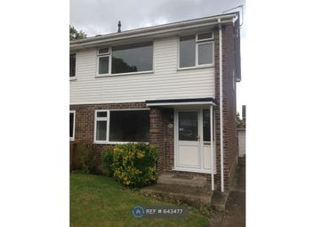Thumbnail 3 bed semi-detached house to rent in Grieg Close, Basingstoke