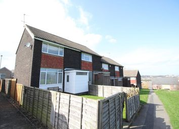 Thumbnail 2 bedroom semi-detached house to rent in Heathcroft Vale, Beeston, Leeds