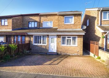 3 bed semi-detached house for sale in Ennerdale Close, Kempston, Beds MK42