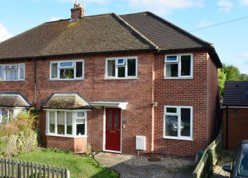 Thumbnail 4 bed semi-detached house for sale in Westgate Road, Newbury
