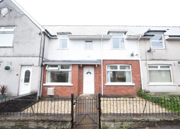 Thumbnail 3 bed terraced house for sale in Syr Dafydd Avenue, Oakdale, Blackwood