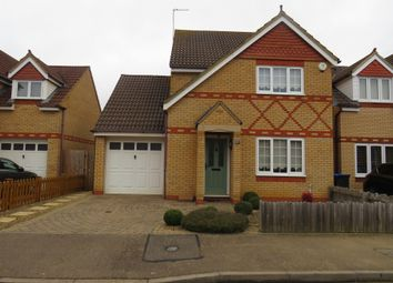 Thumbnail 3 bed detached house for sale in Flinters Close, Wootton, Northampton