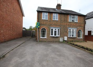 Thumbnail 2 bed semi-detached house to rent in Windsor Road, Chobham, Woking