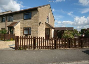 Thumbnail 2 bed end terrace house to rent in The Meadows, Gillingham, Dorset