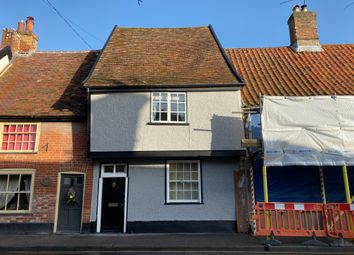 2 bed terraced house for sale in High Street, Needham Market, Ipswich IP6