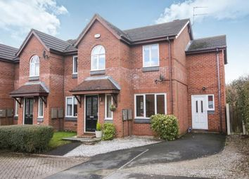 Thumbnail 3 bed end terrace house for sale in Burnside Close, Wilmslow, Cheshire