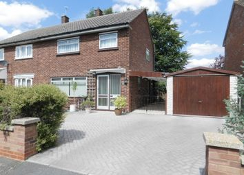Thumbnail 3 bed semi-detached house for sale in Whitecrofts, Stotfold, Hitchin, Herts
