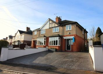 Thumbnail 3 bed semi-detached house for sale in Edge Avenue, Chell, Stoke-On-Trent