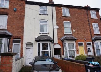 Thumbnail 3 bed terraced house for sale in Westminster Road, Handsworth, Birmingham