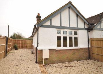 Thumbnail 1 bed semi-detached bungalow for sale in Bradbourne Vale Road, Sevenoaks