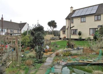 Thumbnail 3 bedroom semi-detached house for sale in Carvossa Estate, Crowlas, Penzance, Cornwall