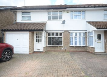Thumbnail 3 bed semi-detached house to rent in Kingsford Close, Woodley, Reading