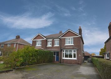 Thumbnail 3 bed semi-detached house for sale in Elworth Road, Sandbach, Cheshire