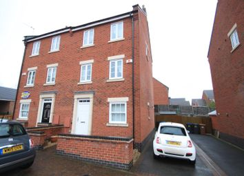 Thumbnail 4 bedroom semi-detached house to rent in Overlord Drive, Hinckley