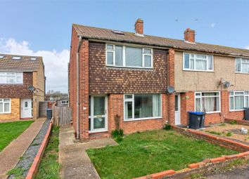 Thumbnail 3 bed property for sale in Hamilton Close, Broadwater, Worthing