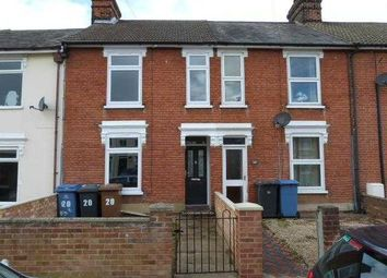 Thumbnail 3 bed terraced house to rent in Henslow Road, Ipswich