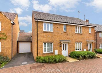 Thumbnail 3 bed semi-detached house for sale in Old School Drive, Wheathampstead, Hertfordshire