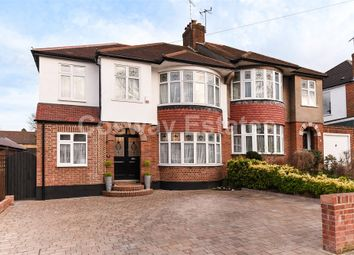 Thumbnail 4 bed semi-detached house for sale in Fernside Avenue, Mill Hill