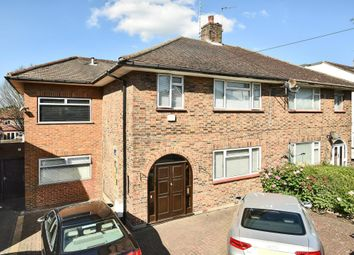 Thumbnail 4 bed semi-detached house for sale in Pyecombe Corner, Woodside Park N12,