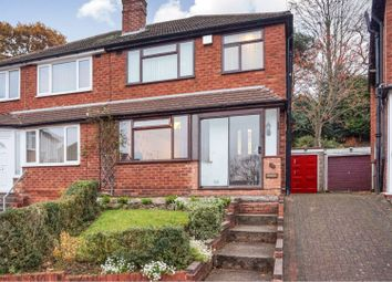 Thumbnail 3 bed semi-detached house for sale in Burnham Road, Great Barr