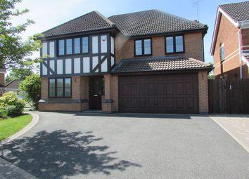Thumbnail 4 bed detached house to rent in Sidbury Grove, Dorridge