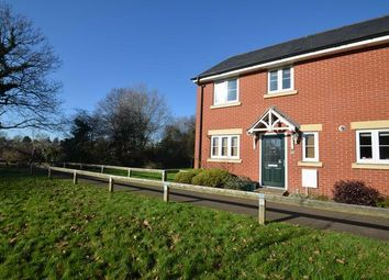 Thumbnail 3 bed end terrace house to rent in Webbers Way, Tiverton