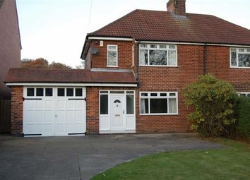 Thumbnail 3 bed semi-detached house to rent in Main Road, Ravenshead, Nottingham
