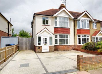 Thumbnail 3 bed semi-detached house for sale in Broomfield Avenue, Thomas A Becket, Worthing, West Sussex