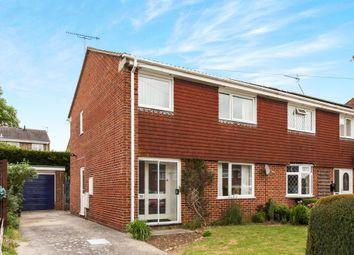 Thumbnail 3 bed semi-detached house for sale in Birchwood Drive, Durrington, Salisbury
