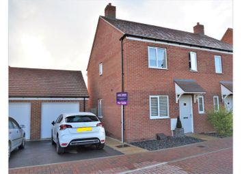 Thumbnail 3 bed semi-detached house for sale in Linnet Road, Bodicote