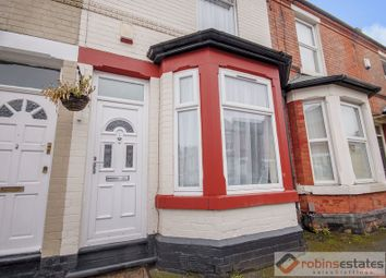 Thumbnail 3 bed terraced house for sale in Glentworth Road, Nottingham