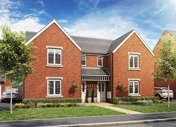 "Thumbnail 3 bed semi-detached house for sale in ""The Hatfield"" at Haverhill Road, Little Wratting, Haverhill"