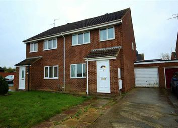 Thumbnail 3 bed semi-detached house for sale in Wakefield Close, Freshbrook, Swindon