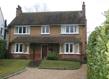Thumbnail 5 bed detached house to rent in Aldenham Avenue, Radlett