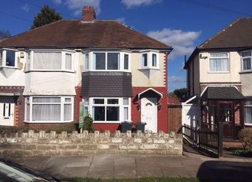 Thumbnail 3 bed semi-detached house to rent in Pendragon Road, Perry Barr, Birmingham